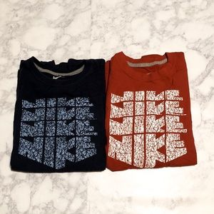BUNDLE  2 Nike T-shirt's